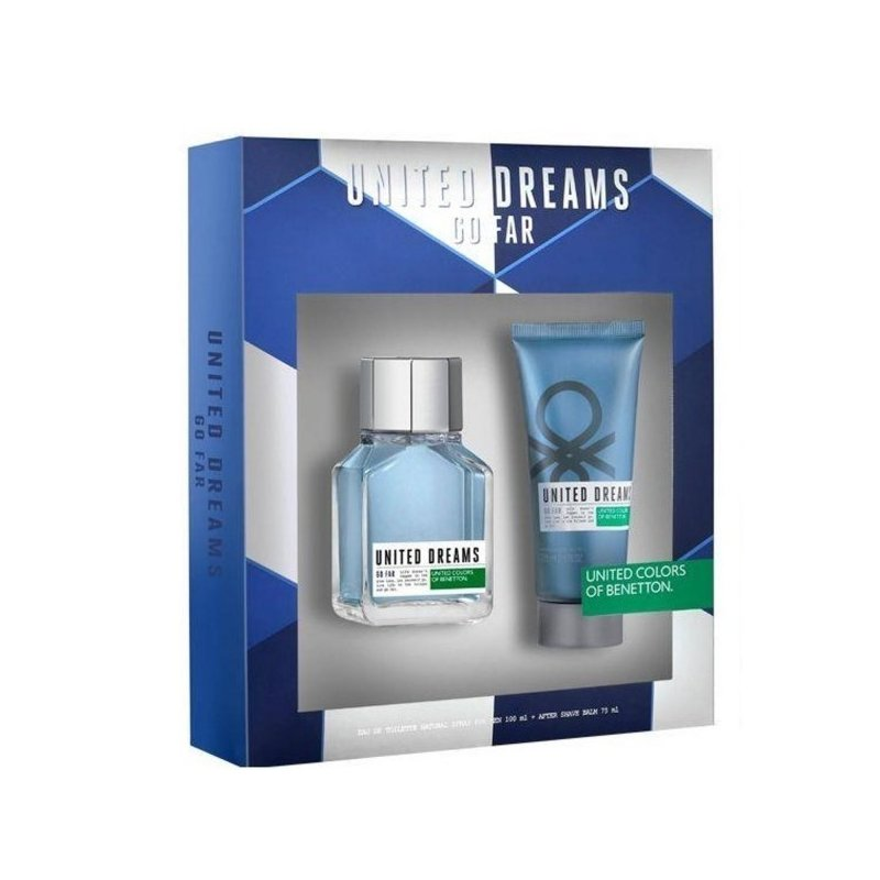 Benetton United Go Far 80ml Set Men