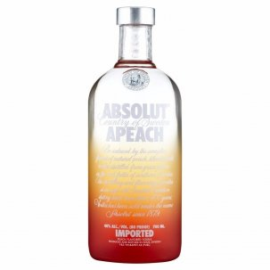 ABSOLUT APEACH 1 LITRO