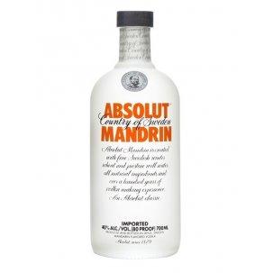 ABSOLUT MANDARIN VODKA 1...