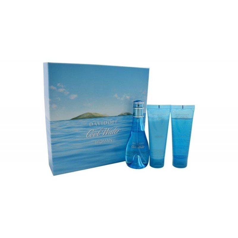 Cool Water 100ml Dama Set 3 Pcs