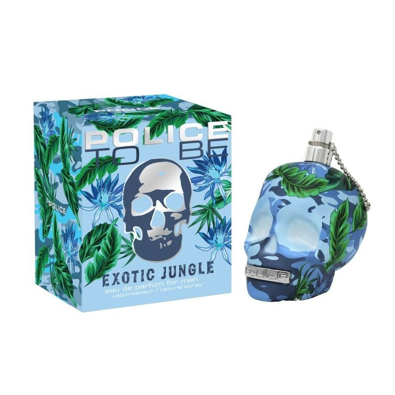 Police To Be Exotic Jungle 125Ml Edt Varon