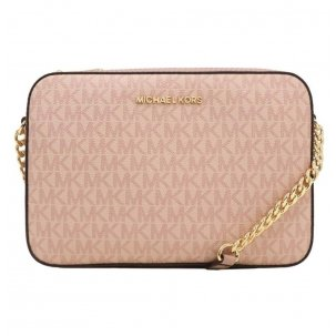 CARTERA MK JET SET ITEM ROSADA