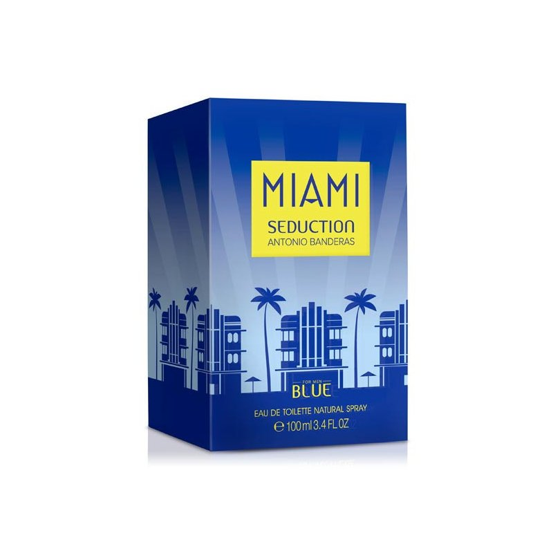 Blue Seduction Miami 100Ml Varon