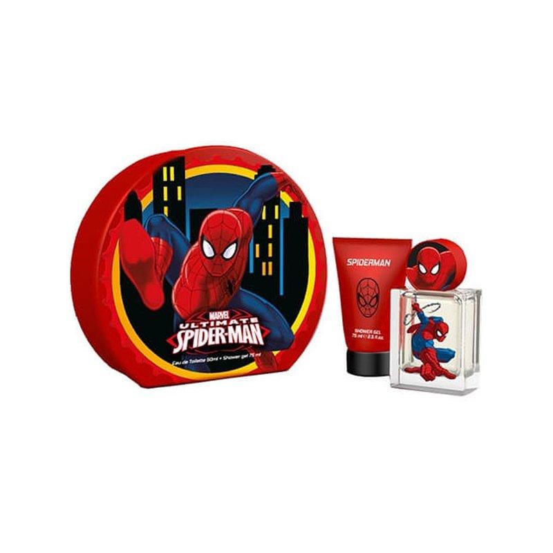 Spiderman 50ml Edt Mas Shower Gel 75ml