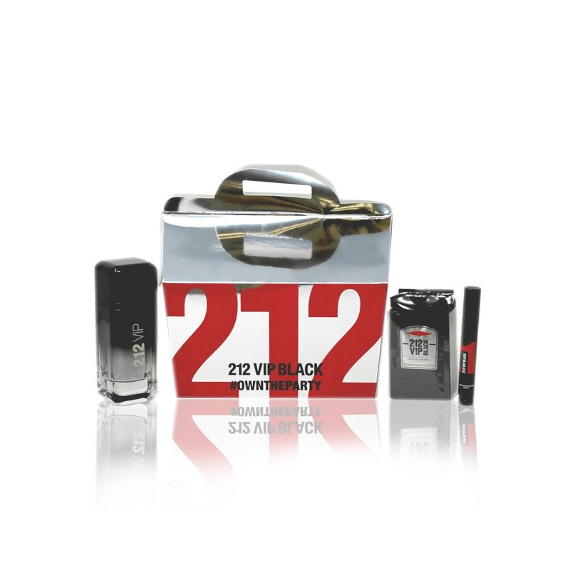 212 Vip Men Black 100Ml Mas 3Ml Mas Sg8ml