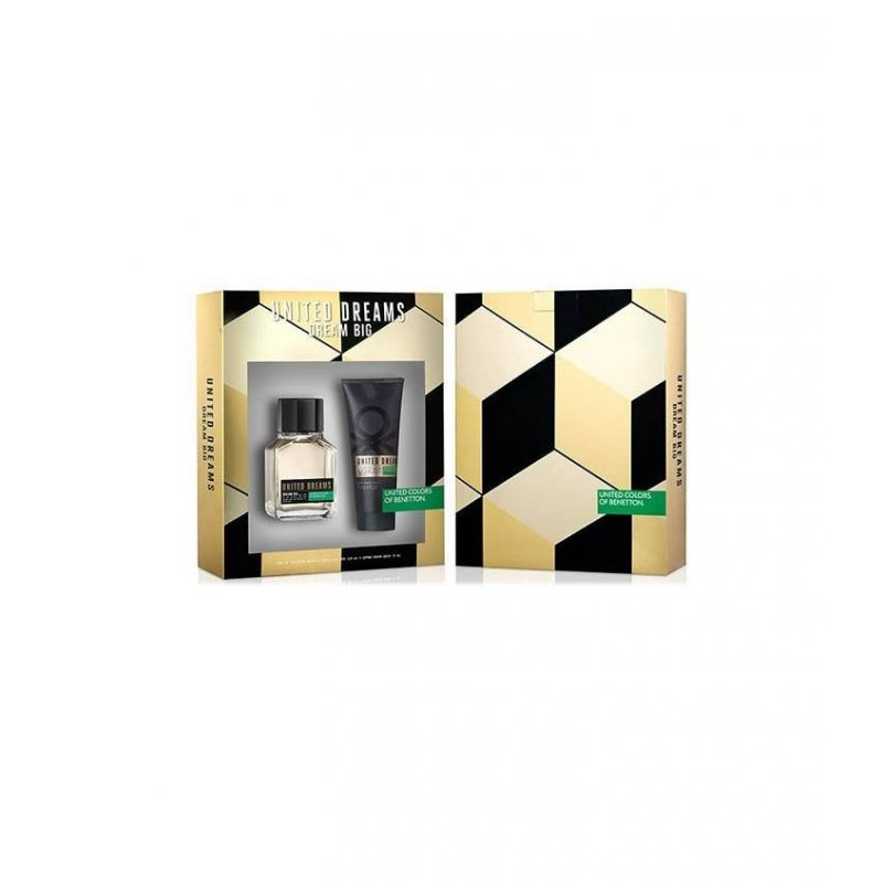Benetton Dream Big 100Ml + After Shave 75Ml Varon