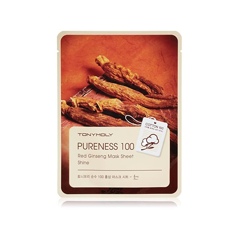 Tony Moly Pureness Red Ginseng Mask