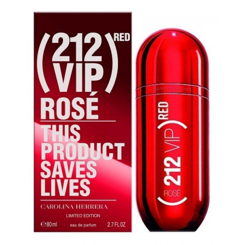 212 Vip Red Rose 80Ml Edp
