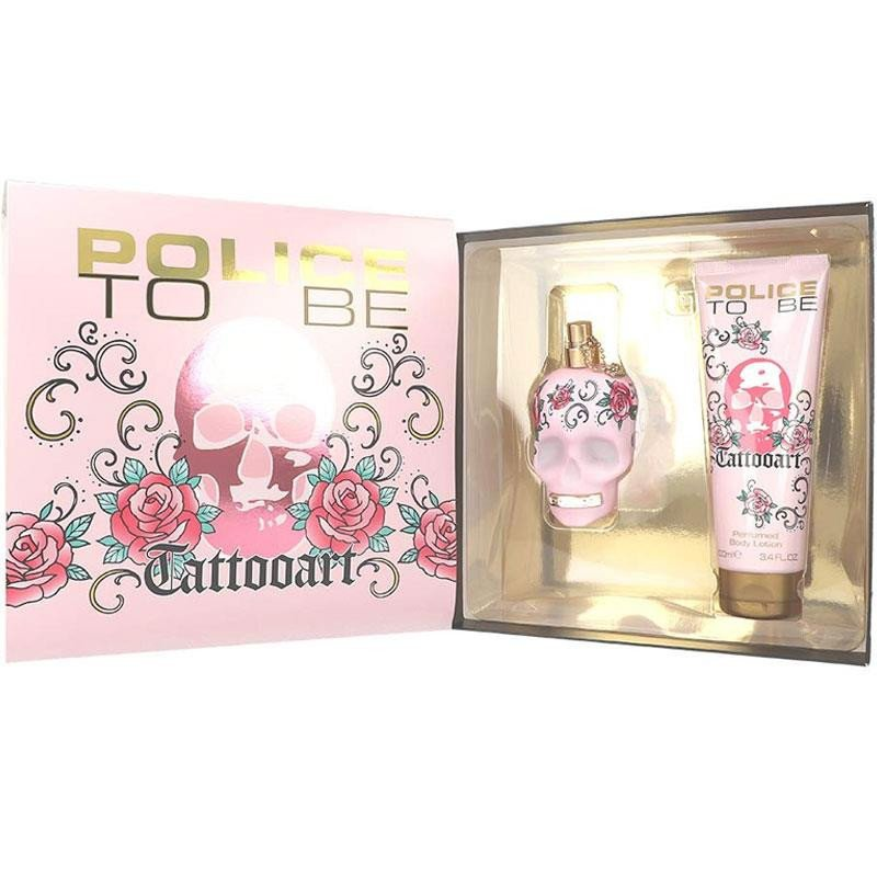 Police To Be Tattooart 75Ml Set Woman