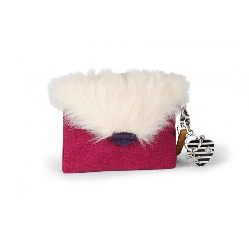 Kipling Furry Phaenna Berry
