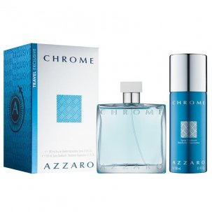 AZZARO CHROME 100ML + SPRAY...